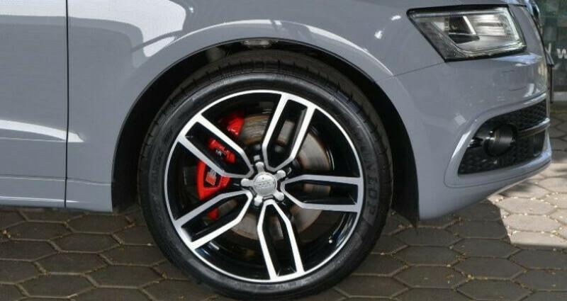Audi SQ5 3.0 V6 BiTDI 340ch plus quattro Tiptronic Gris occasion à Boulogne-Billancourt - photo n°3