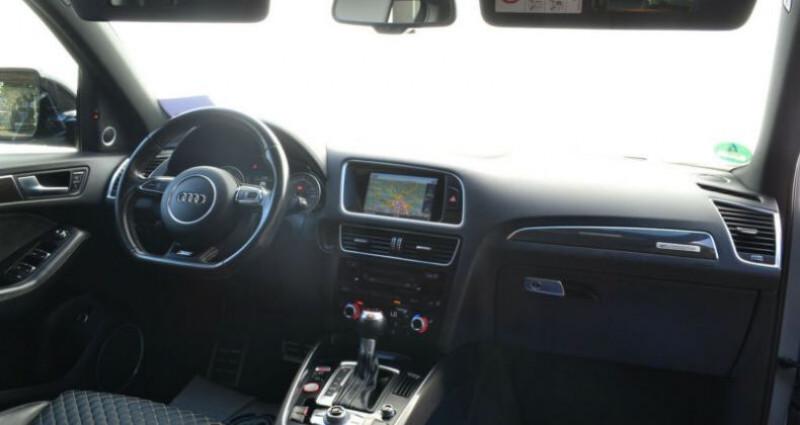 Audi SQ5 3.0 V6 BiTDI 340ch plus quattro Tiptronic Gris occasion à Boulogne-Billancourt - photo n°4