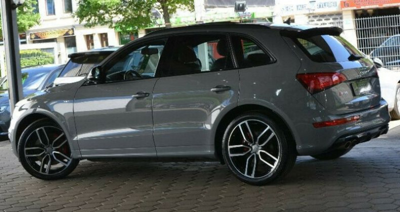 Audi SQ5 3.0 V6 BiTDI 340ch plus quattro Tiptronic Gris occasion à Boulogne-Billancourt - photo n°7
