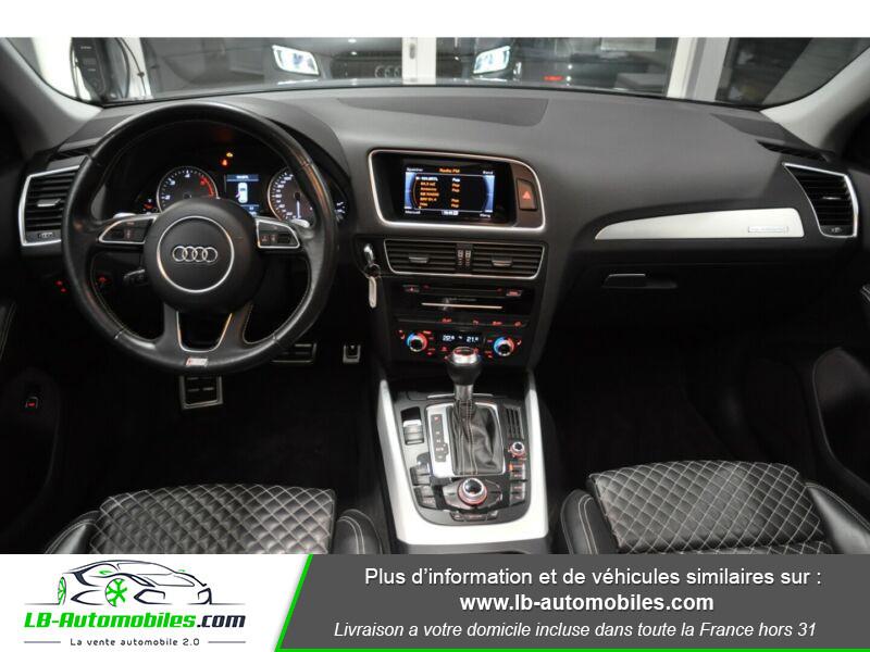 Audi SQ5 3.0 V6 BiTDI 340ch S Tronic Quattro Gris occasion à Beaupuy - photo n°2
