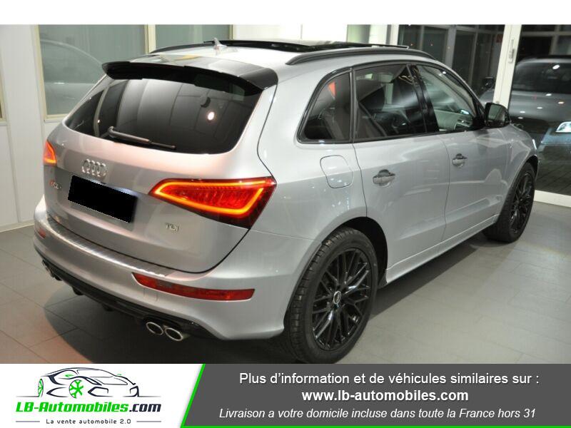 Audi SQ5 3.0 V6 BiTDI 340ch S Tronic Quattro Gris occasion à Beaupuy - photo n°3