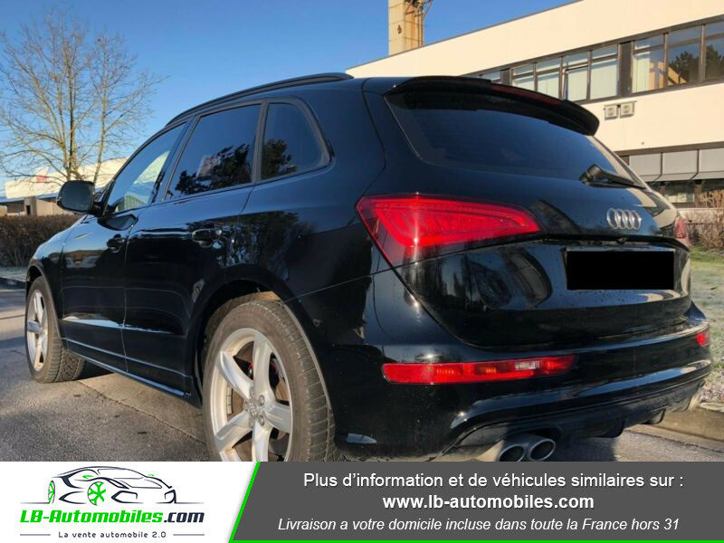Audi SQ5 3.0 V6 BiTDI 340ch S Tronic Quattro Noir occasion à Beaupuy - photo n°3
