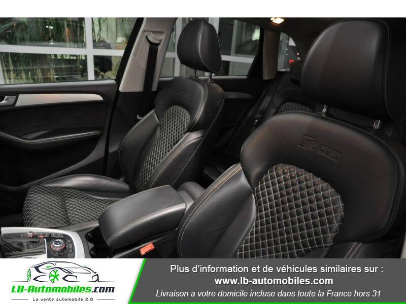 Audi SQ5 3.0 V6 BiTDI 340ch S Tronic Quattro Gris occasion à Beaupuy - photo n°6