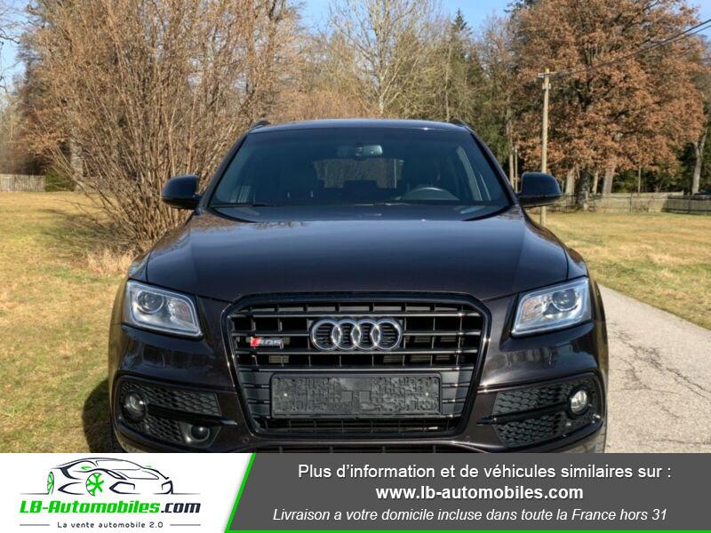 Audi SQ5 3.0 V6 BiTDI 340ch S Tronic Quattro Noir occasion à Beaupuy - photo n°4