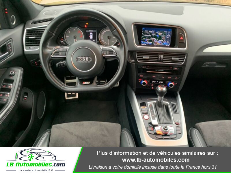 Audi SQ5 3.0 V6 BiTDI 340ch S Tronic Quattro Noir occasion à Beaupuy - photo n°2