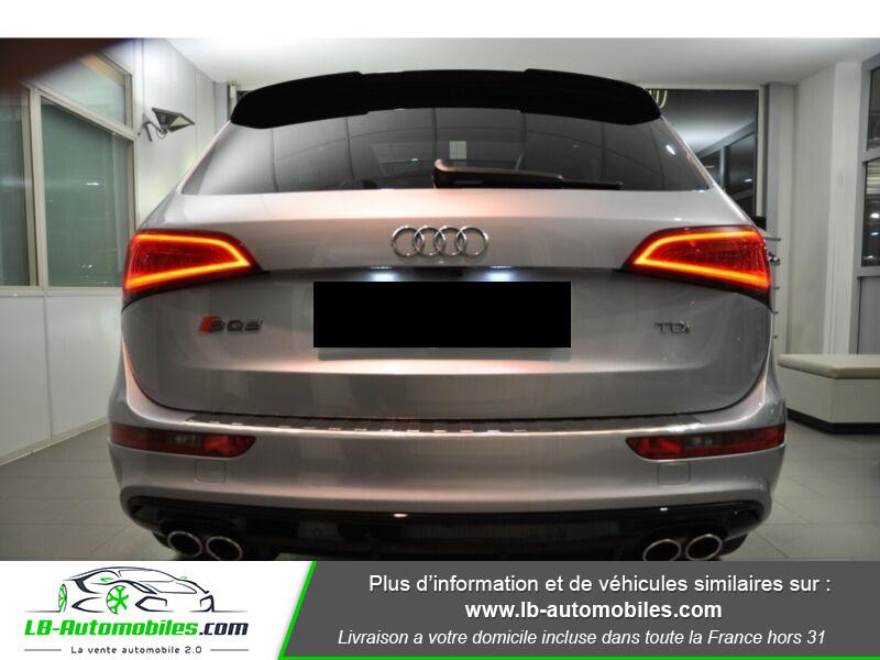Audi SQ5 3.0 V6 BiTDI 340ch S Tronic Quattro Gris occasion à Beaupuy - photo n°5