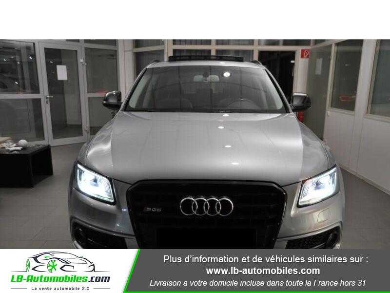 Audi SQ5 3.0 V6 BiTDI 340ch S Tronic Quattro Gris occasion à Beaupuy - photo n°4