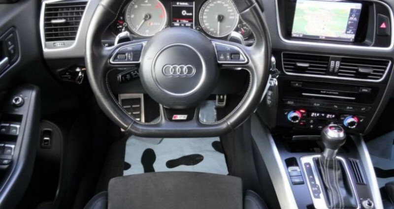 Audi SQ5 Audi SQ5 3.0 TDI (313 Ch/ quattro/panoramique/Garantie 12moi Gris occasion à Mudaison - photo n°5