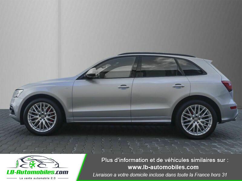 Audi SQ5 V6 3.0 BiTDI 326 Quattro Argent occasion à Beaupuy - photo n°8