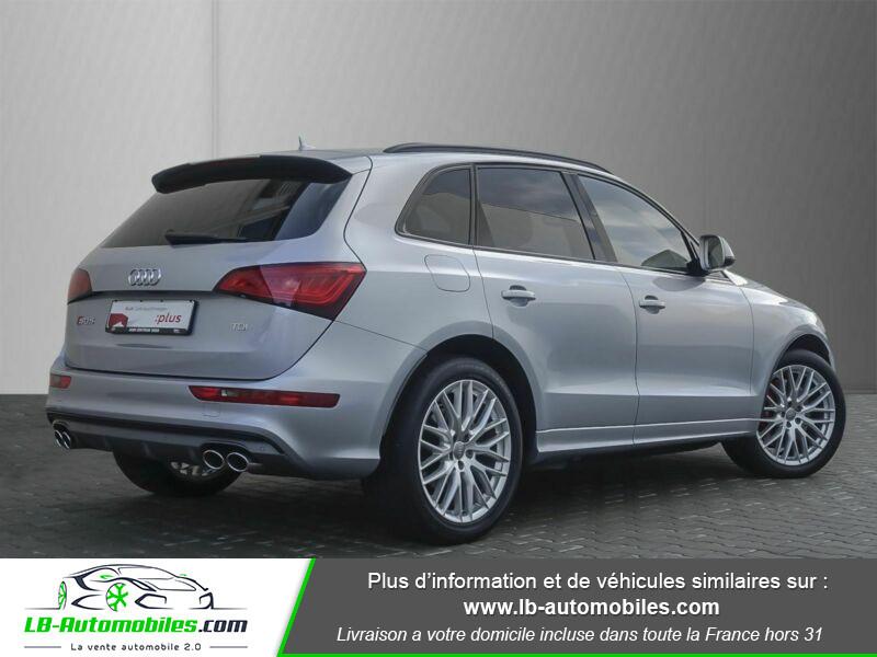 Audi SQ5 V6 3.0 BiTDI 326 Quattro Argent occasion à Beaupuy - photo n°3