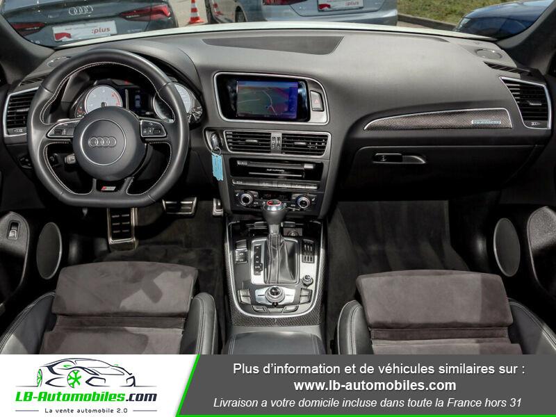 Audi SQ5 V6 3.0 BiTDI 326 Quattro Blanc occasion à Beaupuy - photo n°2