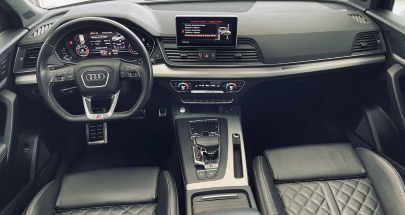 Audi SQ5 V6 3.0 TFSI 354 Tiptronic 8 Quattro Noir occasion à Saint-Ouen - photo n°6