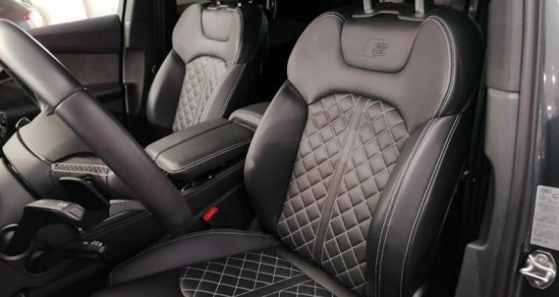 Audi SQ7 4.0 V8 TDI 435ch clean diesel quattro Tiptronic 7 places Gris occasion à Chambourcy - photo n°2