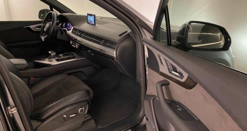 Audi SQ7 4.0 V8 TDI 435ch clean diesel quattro Tiptronic 7 places Gris occasion à Nice - photo n°6