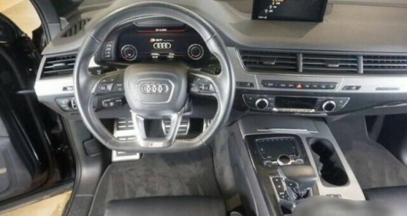 Audi SQ7 4.0 V8 TDI 435ch Noir occasion à Boulogne-Billancourt - photo n°4