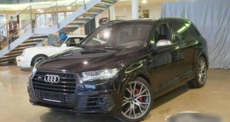 Audi SQ7 4.0 V8 TDI 435ch Noir occasion à Boulogne-Billancourt
