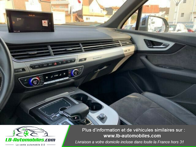 Audi SQ7 V8 4.0 TDI 435 Tiptronic 8 Quattro 7pl Gris occasion à Beaupuy - photo n°8
