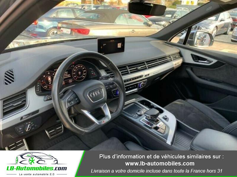 Audi SQ7 V8 4.0 TDI 435 Tiptronic 8 Quattro 7pl Gris occasion à Beaupuy - photo n°6