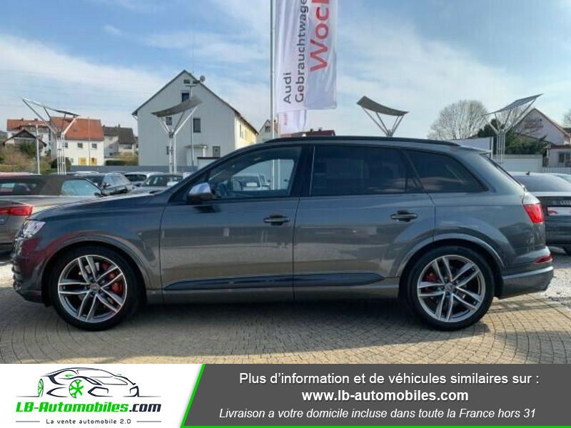 Audi SQ7 V8 4.0 TDI 435 Tiptronic 8 Quattro 7pl Gris occasion à Beaupuy - photo n°11