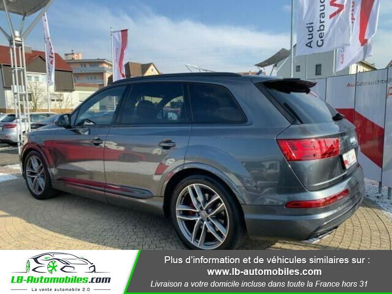 Audi SQ7 V8 4.0 TDI 435 Tiptronic 8 Quattro 7pl Gris occasion à Beaupuy - photo n°3