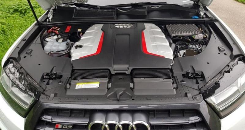 Audi SQ7 V8 4.0 TDI Clean Diesel 435 Tiptronic 8 Quattro 5pl Blanc occasion à Bouxières Sous Froidmond - photo n°5