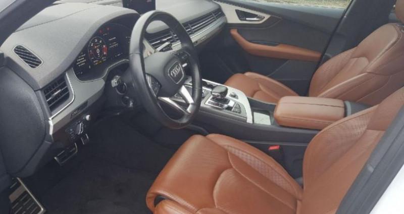 Audi SQ7 V8 4.0 TDI Clean Diesel 435 Tiptronic 8 Quattro 5pl Blanc occasion à Bouxières Sous Froidmond - photo n°6