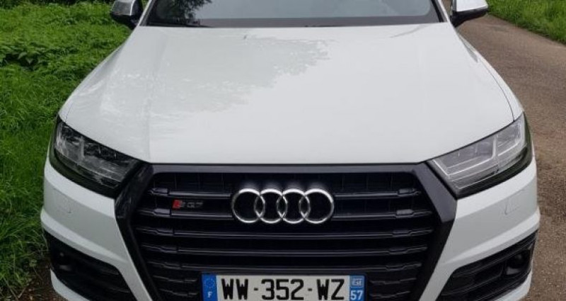 Audi SQ7 V8 4.0 TDI Clean Diesel 435 Tiptronic 8 Quattro 5pl Blanc occasion à Bouxières Sous Froidmond - photo n°2