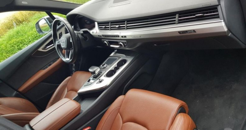 Audi SQ7 V8 4.0 TDI Clean Diesel 435 Tiptronic 8 Quattro 5pl Blanc occasion à Bouxières Sous Froidmond - photo n°4