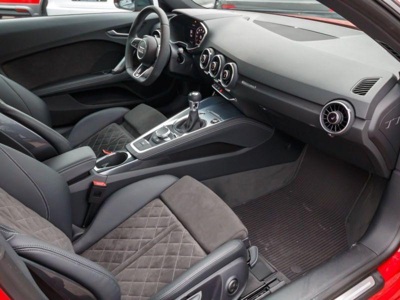 Audi TT Coupe Coupé 2.0 TFSI 230 S Line Rouge occasion à Beaupuy - photo n°4