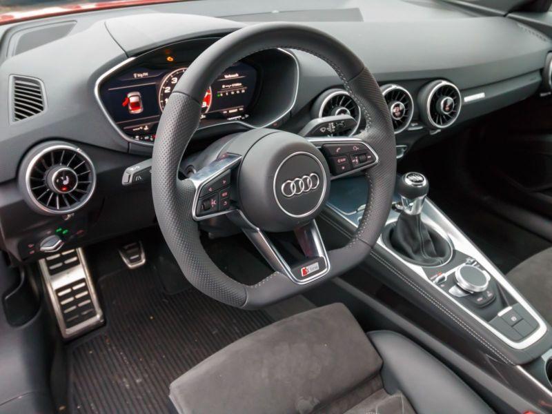 Audi TT Coupe Coupé 2.0 TFSI 230 S Line Rouge occasion à Beaupuy - photo n°9