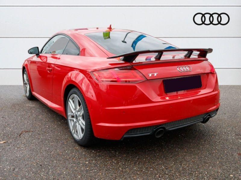 Audi TT Coupe Coupé 2.0 TFSI 230 S Line Rouge occasion à Beaupuy - photo n°3