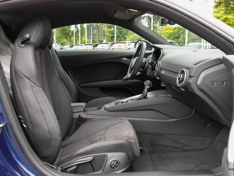 Audi TT Coupe Coupé 2.0 TFSI 230 Bleu occasion à Beaupuy - photo n°4