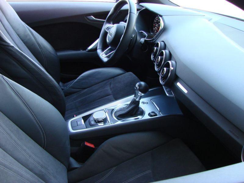 Audi TT Coupe Coupé 2.0 TFSI Quattro 230 S Line Gris occasion à Beaupuy - photo n°4