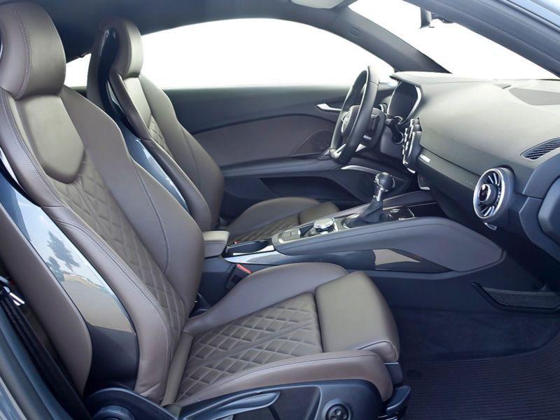 Audi TT Coupe Coupé 2.0 TFSI Quattro 230 Gris occasion à Beaupuy - photo n°4