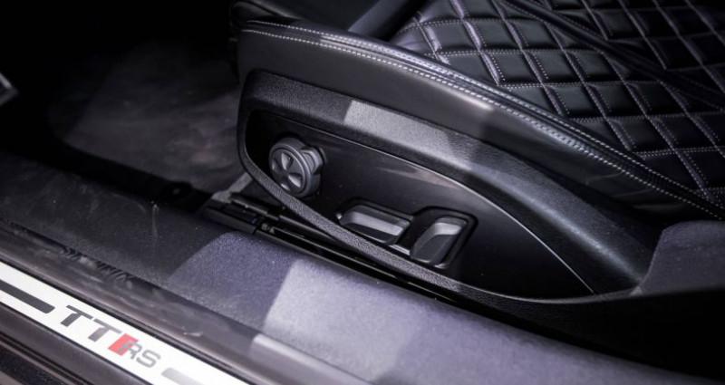 Audi TT Coupe COUPE Coupé 2.5 TFSI 400 S tronic 7 Quattro Gris occasion à Saint-Ouen - photo n°7