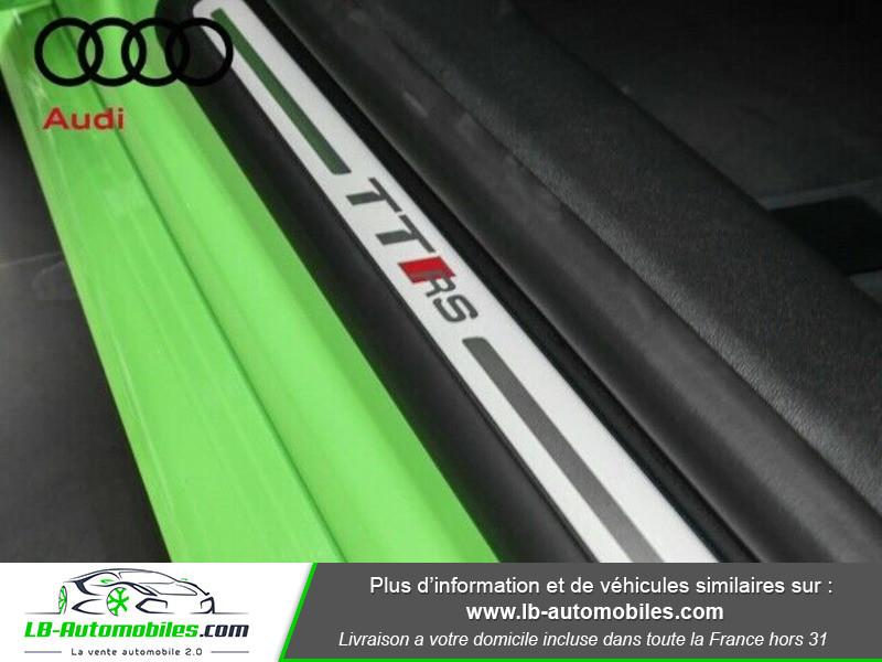 Audi TT Coupe RS Coupé 2.5 TFSI 400 S tronic 7 Quattro Vert occasion à Beaupuy - photo n°12