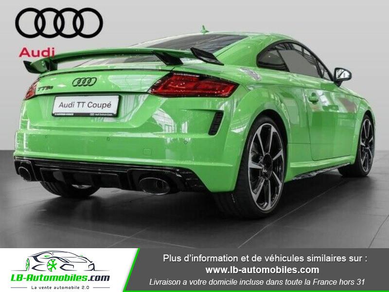 Audi TT Coupe RS Coupé 2.5 TFSI 400 S tronic 7 Quattro Vert occasion à Beaupuy - photo n°3