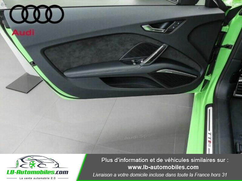Audi TT Coupe RS Coupé 2.5 TFSI 400 S tronic 7 Quattro Vert occasion à Beaupuy - photo n°11