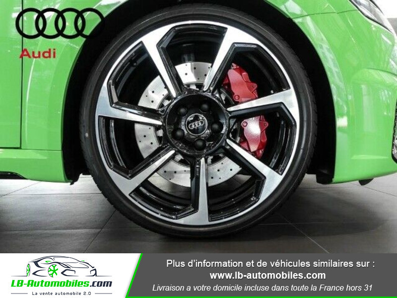 Audi TT Coupe RS Coupé 2.5 TFSI 400 S tronic 7 Quattro Vert occasion à Beaupuy - photo n°10