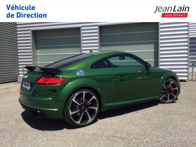 Audi TT Coupe TT RS Coupé 2.5 TFSI 400 S tronic 7 Quattro  3p  occasion à Échirolles - photo n°5