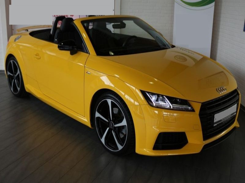 Audi TT roadster 1.8 TFSI 180 cv Jaune occasion à Beaupuy
