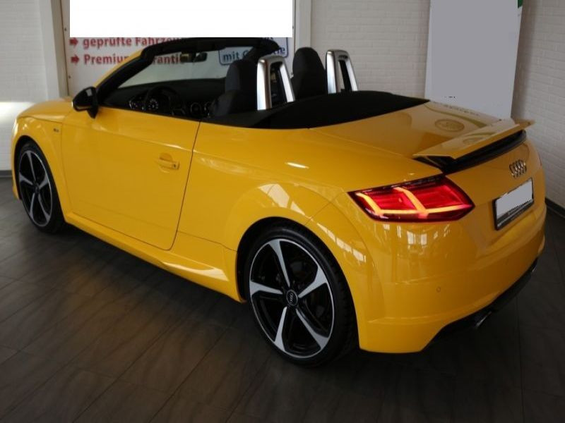 Audi TT roadster 1.8 TFSI 180 cv Jaune occasion à Beaupuy - photo n°3