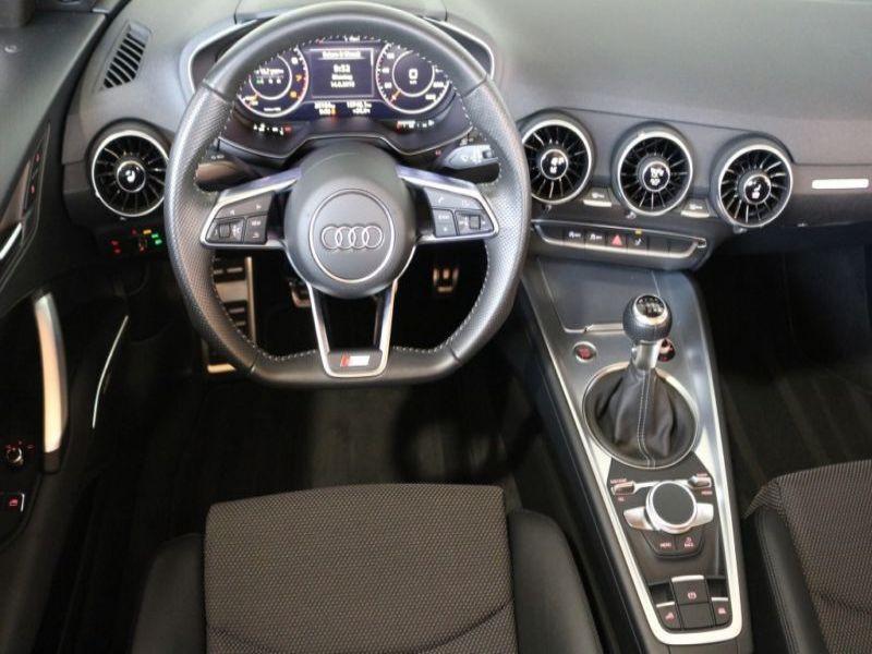 Audi TT roadster 1.8 TFSI 180 cv Jaune occasion à Beaupuy - photo n°2