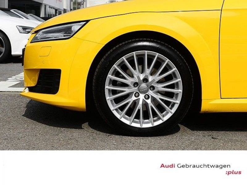 Audi TT roadster 1.8 TFSI 180 cv Jaune occasion à Beaupuy - photo n°6