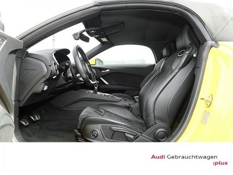 Audi TT roadster 1.8 TFSI 180 cv Jaune occasion à Beaupuy - photo n°4