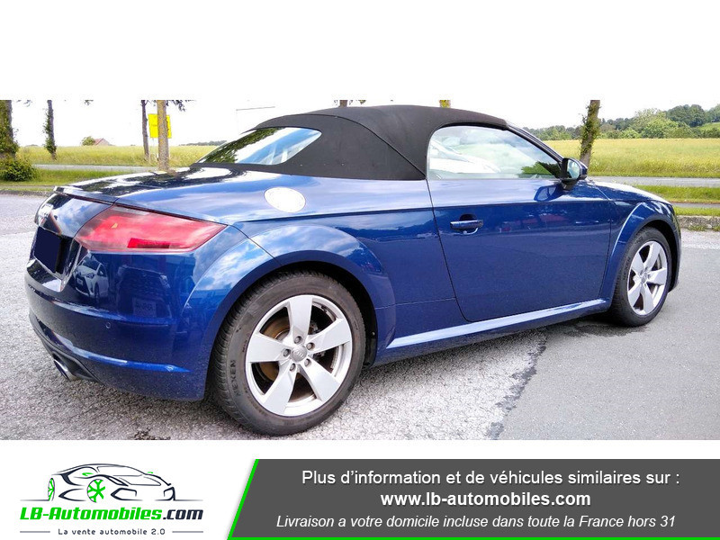 Audi TT roadster 1.8 TFSI 180 S tronic 7 Bleu occasion à Beaupuy - photo n°2