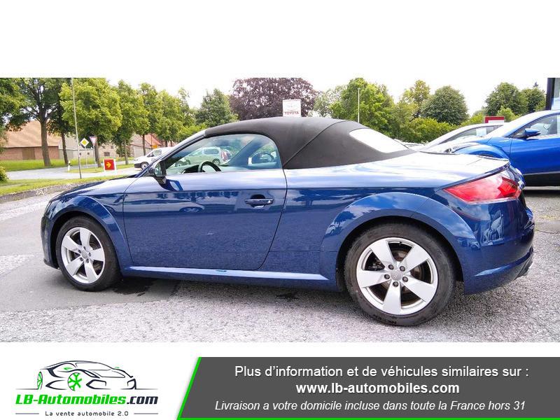 Audi TT roadster 1.8 TFSI 180 S tronic 7 Bleu occasion à Beaupuy - photo n°6