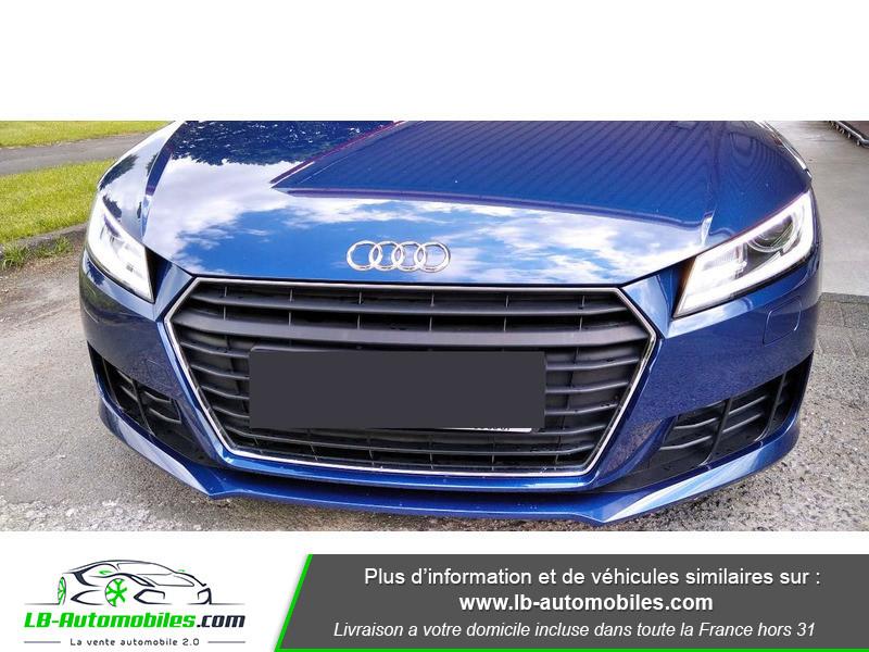 Audi TT roadster 1.8 TFSI 180 S tronic 7 Bleu occasion à Beaupuy - photo n°4