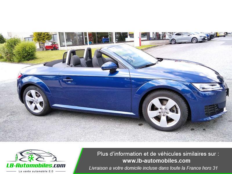 Audi TT roadster 1.8 TFSI 180 S tronic 7 Bleu occasion à Beaupuy - photo n°5