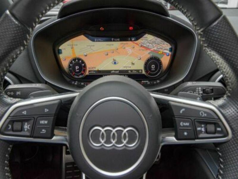Audi TT roadster 1.8 TFSI 180 S Tronic Noir occasion à Beaupuy - photo n°8